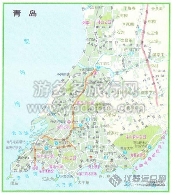 主题:【求助】求青岛市详细地图,带什么什么路的那种